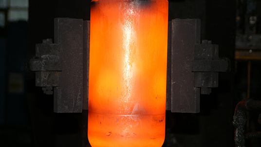 heat treating cylinder