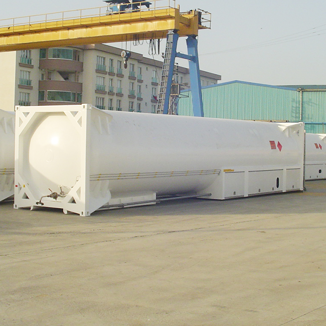 Cryogenic ISO Container